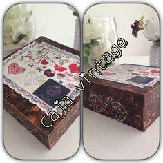 Caja de MDF estilo vintage *jipleo*