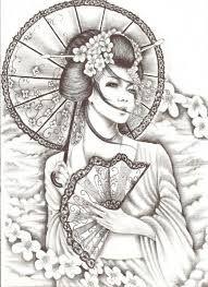 geisha tattoo - Cerca con Google