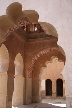 """Koubba Ba' Adiyn, Marrakesh Morocco """"we do not remember days, we remember moments"""" Cesare Pavese Islamic Architecture, Beautiful Architecture, Architecture Design, Marrakech, Remember Day, Arabian Nights, Moorish, North Africa, Casablanca"""