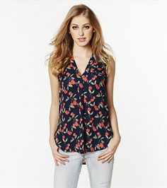 Nothing like a cherry print blouse to put you in a cheery mood!