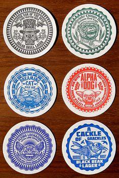 ChetArt Drink Coasters