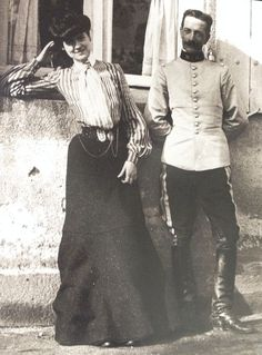 Coco Chanel at Moulins, Bourbonnais, France, 1903 .