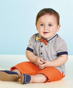Boys Two Piece Polo Shirt and Short Set - Birthday Gifts - Mamas & Papas Mamas And Papas, Short Set, Nursery Furniture, Prams, Car Seats, Little Ones, Polo Shirt, Birthday Gifts, Year Anniversary Gifts