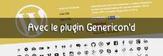 Comment installer une police d'icônes sur votre blog WordPress...