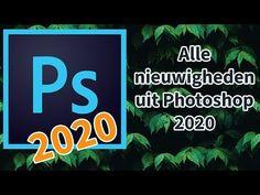 Alle nieuwigheden in photoshop 2020 uitgelegd! Photoshop Tutorial, Software, Artwork, Canon, Tips, Youtube, Work Of Art, Auguste Rodin Artwork, Cannon