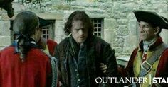 Oh dear! Jamie is in trouble with Lord John!😱