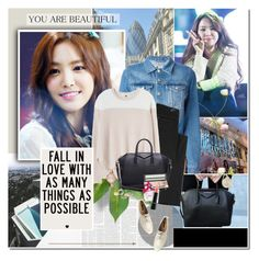 """""""Fall in love with as many things as possible."""" by rainie-minnie ❤ liked on Polyvore featuring Acne Studios, Earnest Sewn, Rebecca Taylor, Givenchy, Marc Jacobs, MAC Cosmetics, Forever 21, MANGO and Marc by Marc Jacobs"""