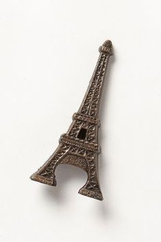 She carries around an Eiffle Tower Bottle Opener in her Celine bag.