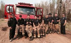 Sixteen firefighters from the First Nations and Métis communities of Fort McKay, pictured, and Fort Chipewyan, are among the hundreds who have been deployed to help local firefighters. (Courtesy Mel Grandjambe) CANADA-WILDFIRE/FORTMCMURRAY  Ontario firefighters have joined the fight against the Fort McMurray fire. Wildfire fighters usually deploy for 14 days at a time but due to extreme fire conditions, deployments to Fort McMurray have been shortened. (Mark Blinch/Reuters)