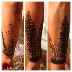 My tattoo #forest #coloardo #bear