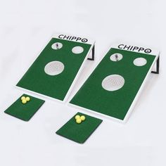 Chippo is the new golf game for beach, backyard, tailgate and clubhouse! A mind-blowing mash-up of golf and classic backyard games.
