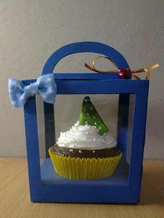 Christmas cupcake #cupcakes #Christmas #tree #cute #sweet