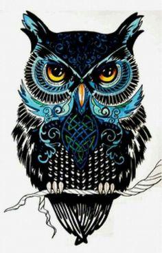 ideas for drawing tattoo owl illustrations Buho Tattoo, Owl Artwork, Owl Tattoo Design, Owl Pictures, Beautiful Owl, Owl Crafts, Cute Owl, Bird Art, Arm Tattoo