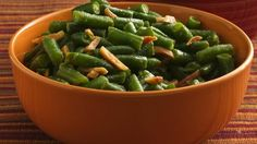 From Betty's Soul Food Collection...  Give this side dish the green light! In 15 minutes, you turn plain green beans to fabulous green beans, with a little garlic for flavor and a dash of red pepper for zip.