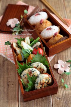 Japanese box lunch,