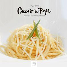 Deliciosa receita romana, Spaghetti Cacio e Pepe, criada pela chef Dani Kishimoto, do  Buffet Zest.