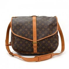 e35b1cd9d9b02 Vintage Louis Vuitton Saumur 35 Monogram Canvas Shoulder Bag Louis Vuitton  Monogramm