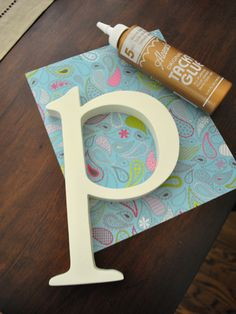 for the letters for the girls room!