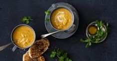 What better way to enjoy winter than to snuggle up to a warm bowl of soup. We've put together our 24 best soup recipes to keep you warm this winter. Spicy Soup, Sour Soup, Kale Soup, Bowl Of Soup, Best Soup Recipes, Chicken Recipes, Chinese Chicken Noodle Soup, Tempura Vegetables, Recipe Minestrone