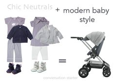 Modern Baby Style with the all new Stokke Scoot in Slate Blue