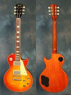 1960 Les Paul standard pic Gruhn guitars .