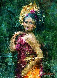 BALI DANCER Painting, Art, Color, Dancer
