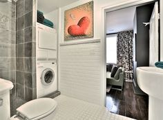 Small Bathroom Laundry Designs bathroom and laundry room combinations | build it back green