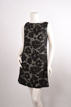 ANNA SUI Floral Sheath Dress Sz 0 NWT - Crave Luxury Consignment  - 1