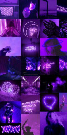 Dark purple aesthetic