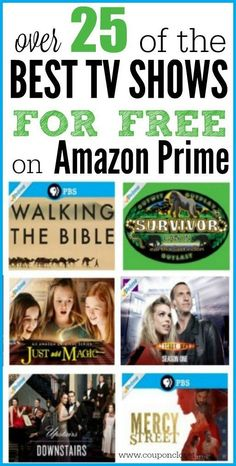Here are the best best tv shows on amazon prime that you can watch for free. These are all included for free in your Amazon prime!