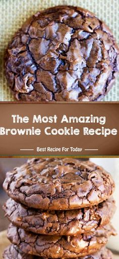 ounces bittersweet chocolate chips 60 70 cacao 1 2 cup large cup granulated 4 cup brown tablespoon vanilla 2 teaspoon baking 2 teaspoon 4 cup all purpose 4 cup unsweetened cocoa powder not Dutch processed 1 cup pecans chopped optional Köstliche Desserts, Delicious Desserts, Dessert Recipes, Yummy Food, Beste Brownies, Boxed Brownies, Easy Brownies, Brownies From Scratch, Cookie Brownies