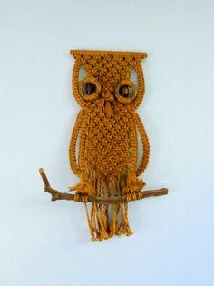 macrame owl - Szukaj w Google