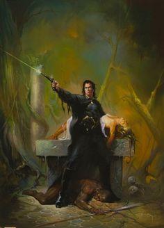 <3  Solomon Kane by Ken Kelly