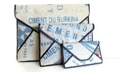 CementJCA jsou tašky a doplňky z pytlů od cementu