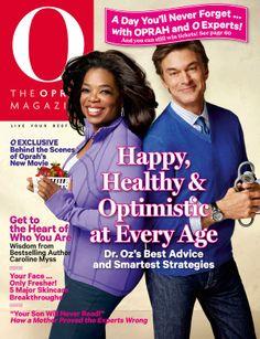 O, The Oprah Magazine Cover, October 2013