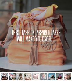#These #Fashion #Inspired Cakes Will Make You #Drool ... → Fashion #Louis