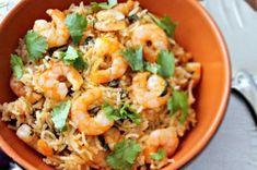 Indian Shrimp Pulao...
