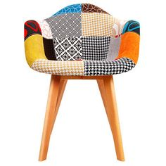 Eames Replica Patchwork Dining Arm Chairs (Set of by Dwell Home. Get it now or find more Dining Chairs at Temple & Webster. Next Dining Chairs, Farmhouse Dining Chairs, Fabric Dining Chairs, Kitchen Chairs, Dining Chair Set, Plastic Seat Covers, Grey Desk Chair, Adirondack Chair Plans Free, Chairs For Rent