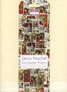 Christmas DECOUPAGE PAPER, Victorian Christmas Decoupage Paper, Christmas Paper, Collage Paper, Decoupage Papers, Deco Mache by OneDayLongAgo on Etsy