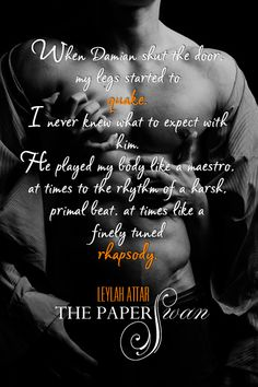 Cover Reveal – THE PAPER SWAN by Leylah Attar