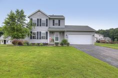 OPEN HOUSE 7/15 1-3 PM! Sparta Real Estate. Welcome to 1169 South Hill! This 2-story, beautiful home sits on half an acre of land on a quiet cul-de-sac road. The main level features living room, kitchen with dining area, home office, and half bathroom. The upper level features three bedrooms and a full bathroom. The basement was remodeled into a room with walk-in closet and partially finished bathroom area last fall. Enjoy sitting on the back deck during the warmer months as well as the fire…