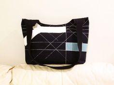 geometric BEAUCATCHER tote bag shoulder bag IKEA by madebyHULDA,
