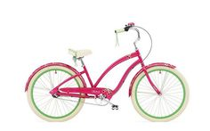 Remember fun? Imagine where you could go on a CHERIE 3i by Electra--available in hot pink. Explore the wide variety of stylish, creative designs and find the perfect Cruiser to suit your individuality and imagination.