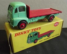 "Dinky: 432 Guy ""Warrior"" flat bed truck."