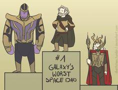 Worst Space Dads by DKettchen