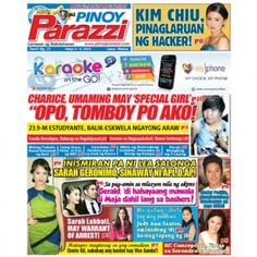 Pinoy Parazzi Vol 6 Issue 72 June 3 – 4, 2013 http://www.pinoyparazzi.com/pinoy-parazzi-vol-6-issue-72-june-3-4-2013/