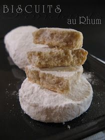 J'en reprendrai bien un bout. Biscuit Cookies, Cake Cookies, Croissant, Biscuits Fondants, Rum, Delicious Desserts, Yummy Food, Desserts With Biscuits, Martha Stewart Recipes