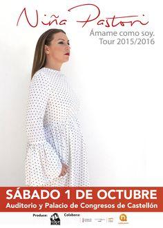 Concierto de Niña Pastori en Castellón de la Plana