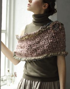 Crochet scarf/snood