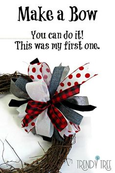 First Attempt at a Terri Bow! Cant make a bow? This was my first attempt at the Terri bow using the Pro Bow. Check out the ribbon stock at Trendy Tree we have over 2000 styles! Source by trendytree Bow Making Tutorials, Making Ideas, Bow Tutorial, Wreath Tutorial, Flower Tutorial, Diy Bow, Diy Ribbon, Ribbon Bows, Ribbon Flower